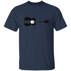Guitar Moonrise - Mens - Tshirt - Small to 5XL