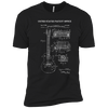 Guitar Patent Drawing _?? Mens - Tshirt - Small to 5XL