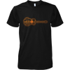 Guitar Sunset Landscape - Mens - Tshirt - Small to 5XL