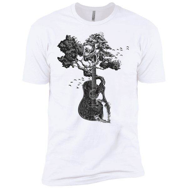 Guitar Tree - Mens - Tshirt - Small to 5XL