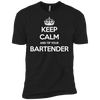 Keep Calm And Tip Your Bartender - Mens - Tshirt - Small to 5XL