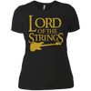 Lord of the Strings (Bass) - Womens - Tshirt - Small to 3XL
