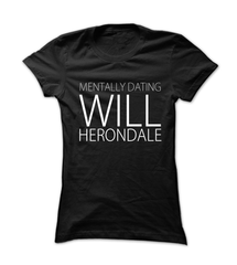 Mentally Dating Will Herondale - Womens - Tshirt - Small to 2XL