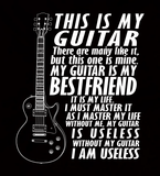 My Guitar Is My Best Friend - Mens - Tshirt - Small to 5XL