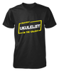 Okayest Ukulelist In The Galaxy - Mens - Tshirt - Small to 5XL