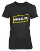 Okayest Ukulelist In The Galaxy - Womens - Tshirt - Small to 2XL