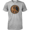Peace Symbol (Guitar) - Mens - Tshirt - Small to 5XL