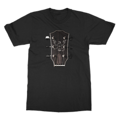 Personalized Classic Guitar Headstock - Mens - Tshirt - Small to 5XL