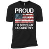 Proud To Serve My Country - Mens - Tshirt - Small to 5XL