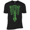 Spinal Tap Green Skeleton Nigel Tufnel Ribcage - Mens - Tshirt - Small to 5XL
