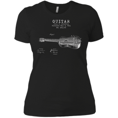 Stratton Patent Guitar - Womens - Tshirt - Small to 3XL