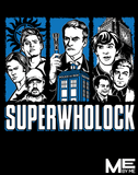 Superwholock - Mens - Tshirt - Small to 5XL