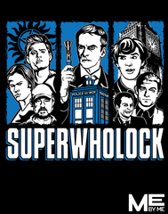 Superwholock - Womens - Tshirt - Small to 2XL