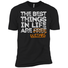 The Best Things in Life are Guitars - Mens - Tshirt - Small to 5XL