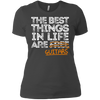 The Best Things in Life are Guitars - Womens - Tshirt - Small to 3XL