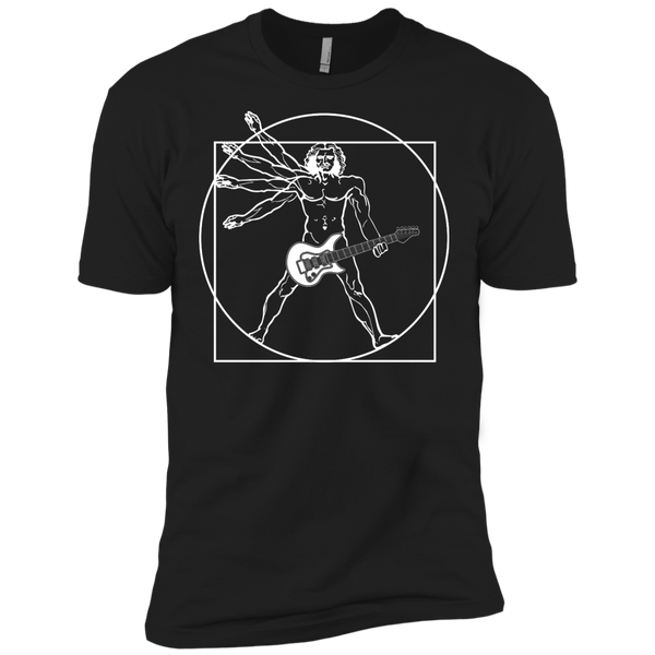 Vitruvian Guitar - Mens - Tshirt - Small to 5XL