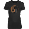 Yin Yang Guitar - Womens - Tshirt - Small to 3XL
