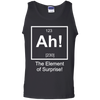 Ah! The Elements Of Surprise! - Mens - Tank - Small to 3XL