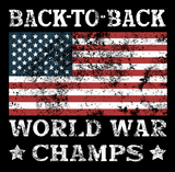Back To Back World Champs - Mens - Tank - Small to 3XL