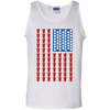Beer Pong Flag - Mens - Tank - Small to 3XL