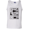 Build Your Own Guitar - Mens - Tank - Small to 3XL
