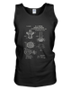 Bunsen Burner Patent - Mens - Tank - Small to 3XL