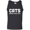 Cats. Because People Suck - Mens - Tank - Small to 3XL