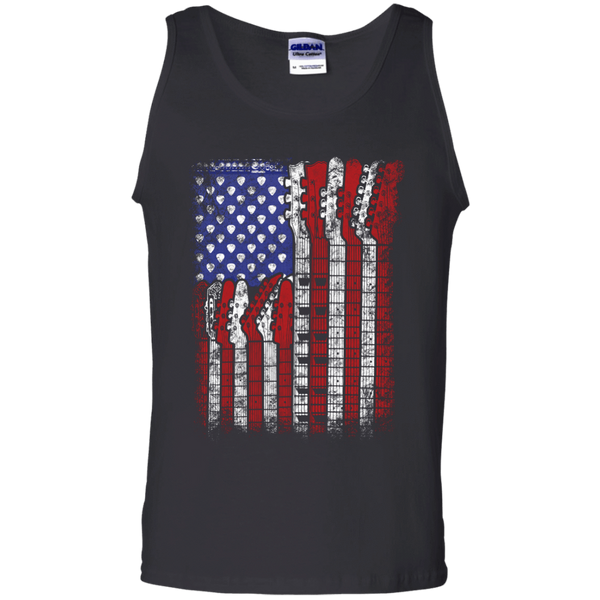 Guitar Flag - Mens - Tank - Small to 3XL