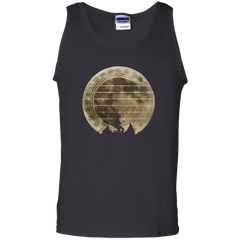 Guitar In The Moonlight - Mens - Tank - Small to 3XL