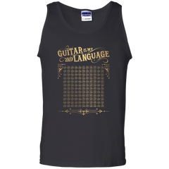 Guitar is My 2nd Language - Mens - Tank - Small to 3XL