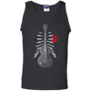 Guitar Skeleton - Mens - Tank - Small to 3XL