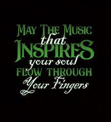 May The Music Flow Through Your Fingers 2018 - Mens - Tank - Small to 3XL