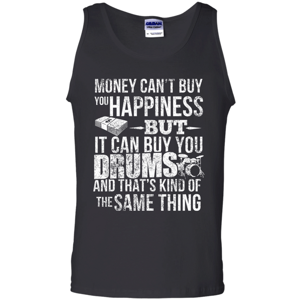 Money CAN Buy Happiness - Drums! - Mens - Tank - Small to 3XL
