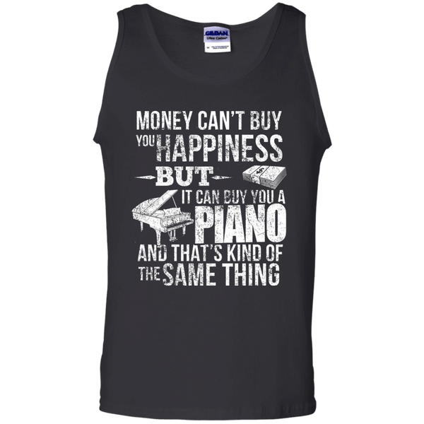 Money CAN Buy Happiness - Pianos! - Mens - Tank - Small to 3XL