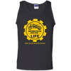 Motorcycles Are For Life And Not Just Sunny Days - Mens - Tank - Small to 3XL