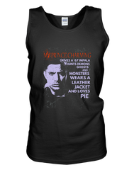 My Prince Charming Dean Winchester - Womens - Tank - Small to 2XL