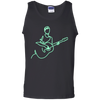 Neon Guitarist - Mens - Tank - Small to 3XL