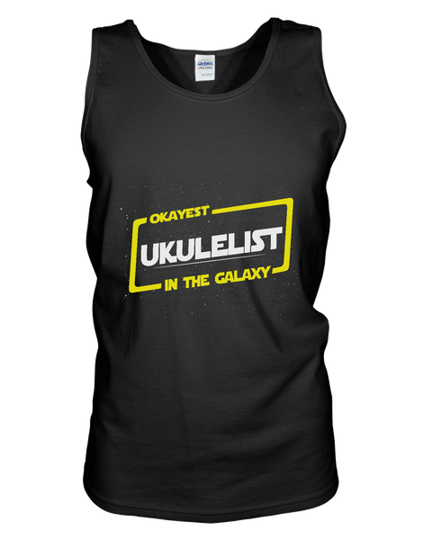 Okayest Ukulelist In The Galaxy - Womens - Tank - Small to 2XL