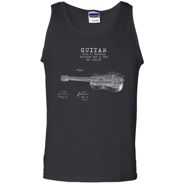 Stratton Patent Guitar - Mens - Tank - Small to 3XL