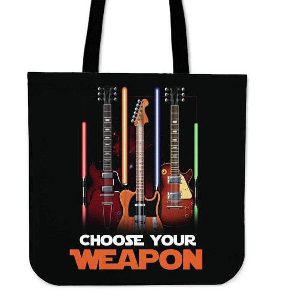 Choose Your Weapon 2018 Tote Bag