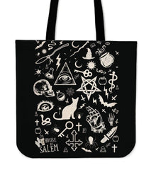 Elements of Witchcraft Inspired by Wicca Tote Bag