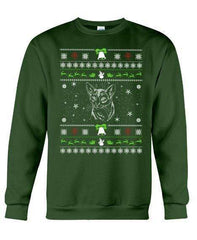 Abyssinian Cat - Unisex - Sizes Small to 5XL Ugly Christmas Sweater