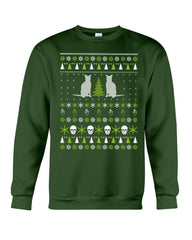 Abyssinian Crewneck Sweatshirt - Unisex - Sizes Small to 5XL Ugly Christmas Sweater