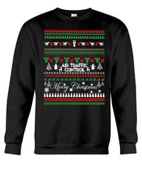 Air Traffic Control - Unisex - Sizes Small to 5XL Ugly Christmas Sweater