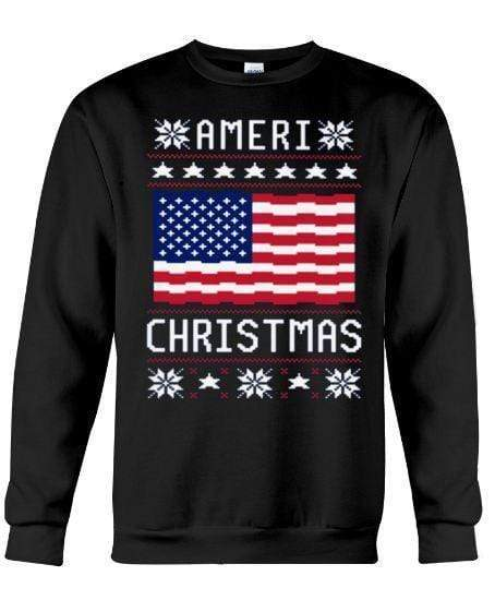 Ameri Christmas - Unisex - Sizes Small to 5XL Ugly Christmas Sweater