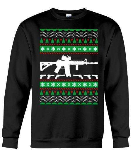 Ar15 Riffle - Unisex - Sizes Small to 5XL Ugly Christmas Sweater