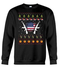 Army Ak47 - Unisex - Sizes Small to 5XL Ugly Christmas Sweater