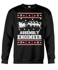 Assembly Engineer - Unisex - Sizes Small to 5XL Ugly Christmas Sweater