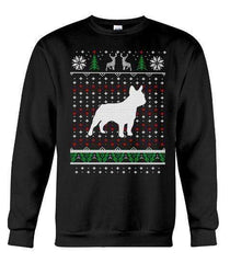 French Bulldog - Unisex - Sizes Small to 5XL Ugly Christmas Sweater