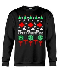 Merry Christmas Nurse CNA - Unisex - Sizes Small to 5XL Ugly Christmas Sweater
